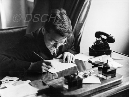 <p>In his office in the flat on Kirov Street. Moscow,…</p>