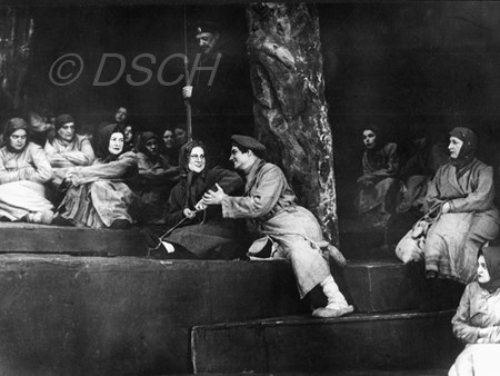<p>Scene from Act IV of the opera 'Katerina Izmailova…</p>