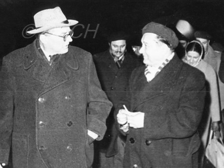 <p>At Novosibirsk airport on 22 April 1961: Dmitri Sh…</p>